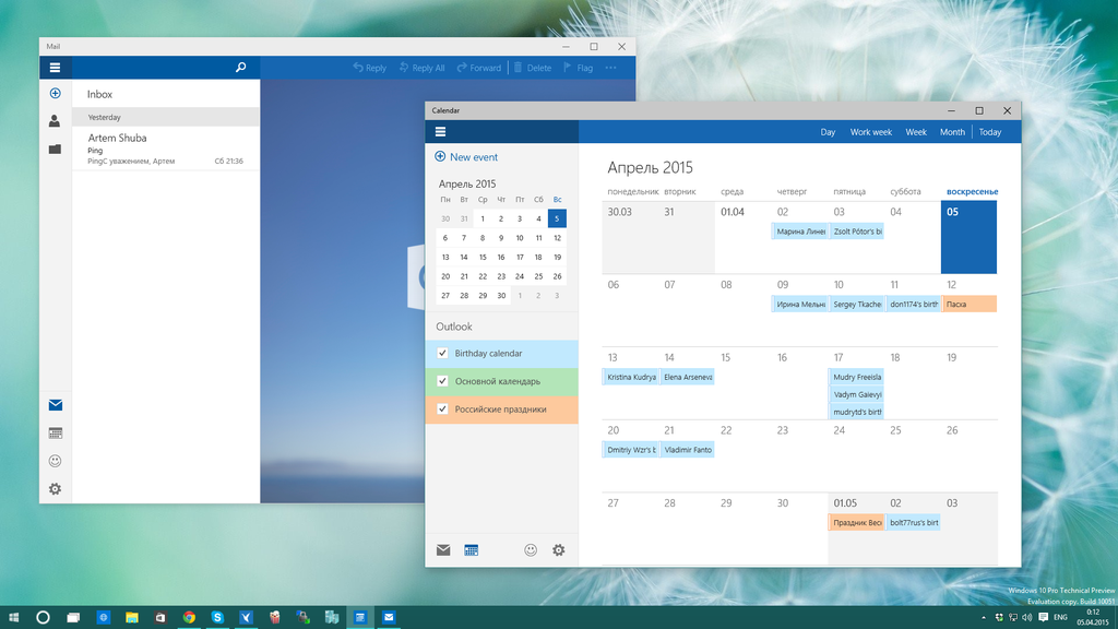 windows-10-10051-mail-calendar