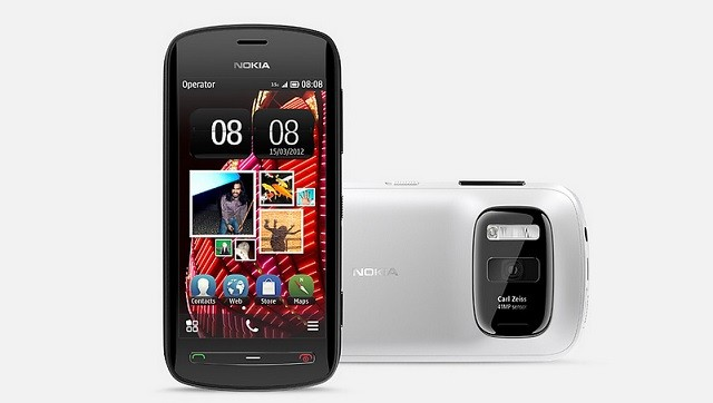 Nokia 808 mit Symbian Betriebssystem
