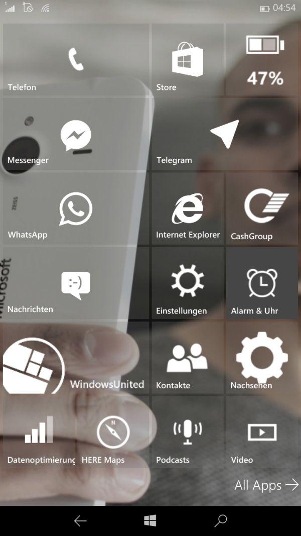 Windows 10 mobile build 10080 jetzt auch wirklich f r for Window 640 xl