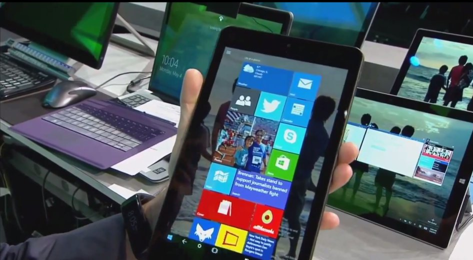 Windows 10 Tablet Continuum