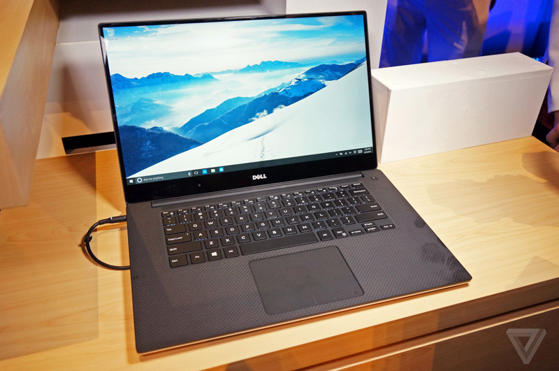 Neues Dell XPS 15 mit infinity Display. Quelle: The Verge