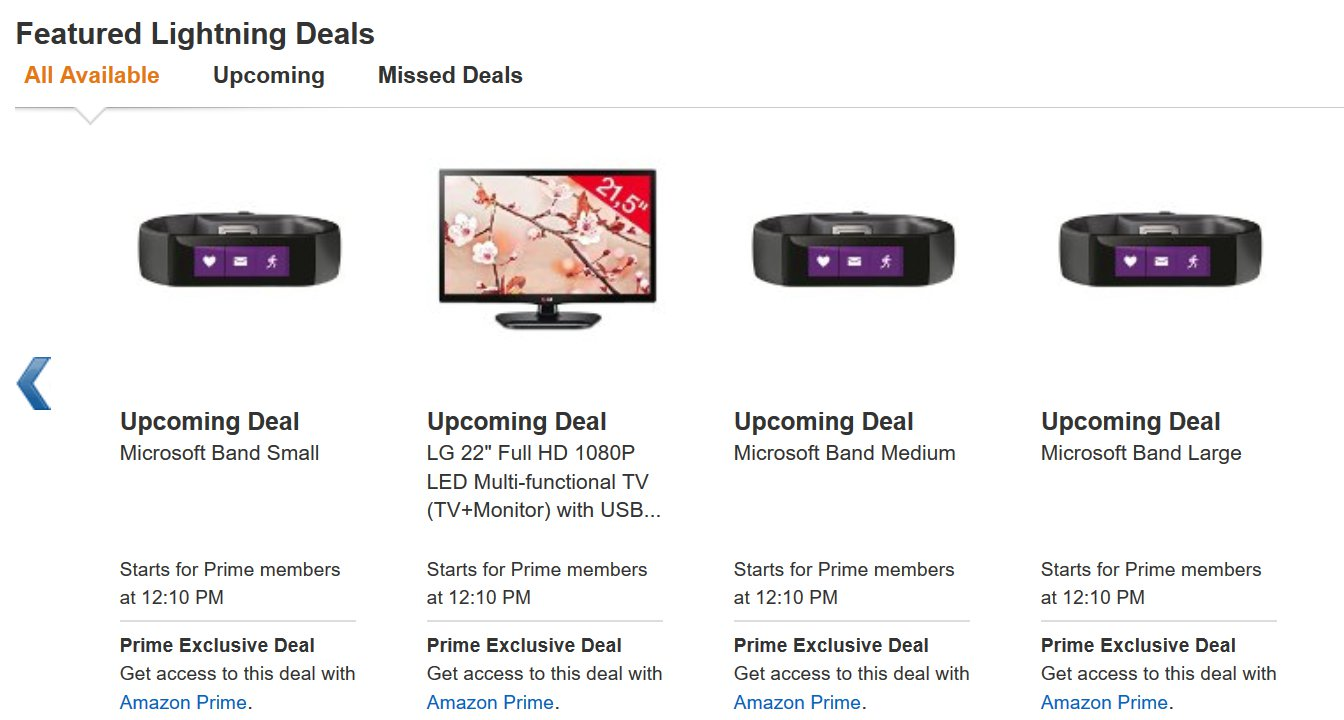 Microsoft Band Deal Amazon UK