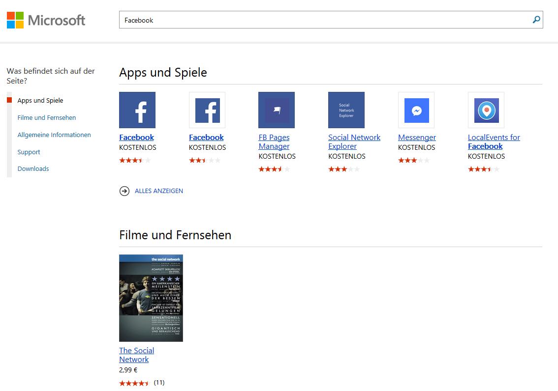 windows app store startet nicht