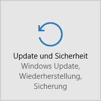 Update und Sicherheit