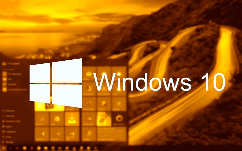Windows 10 Banner Gold (Tom)