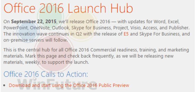 Office 2016 22.09.15