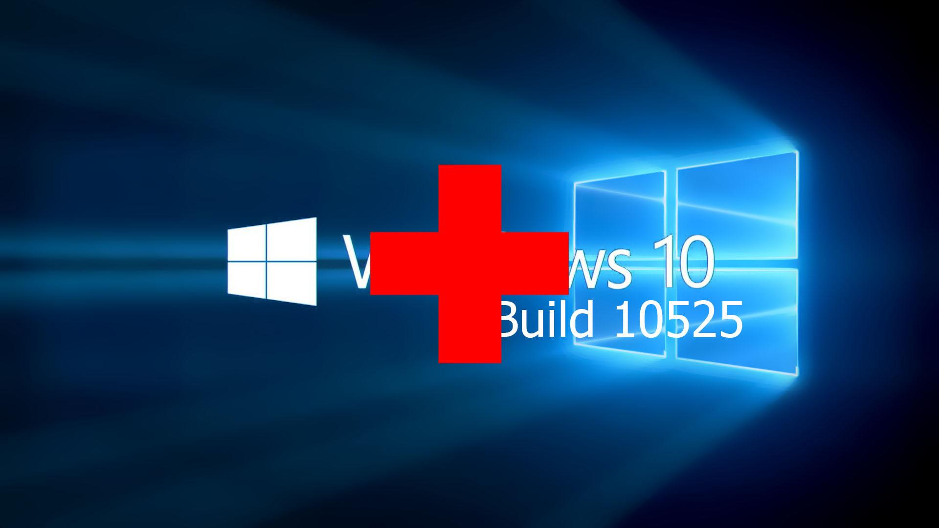 Windows 10 Build 10525 Verbesserungen und Fehler