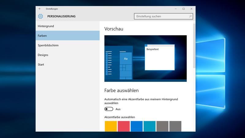 Windows-10-Personalisierung-Farben