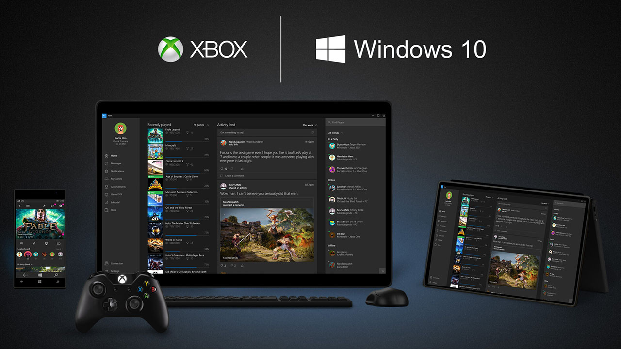 Xbox und Windows 10