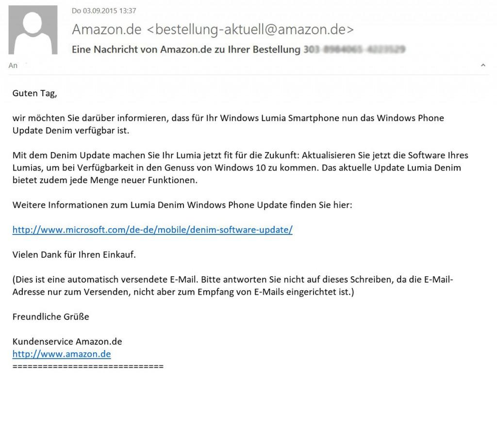 Amazon-Update-Erinnerung