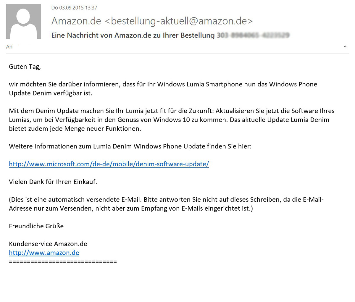 Windows Phone Amazon Erinnert An Lumia Update Windowsunited