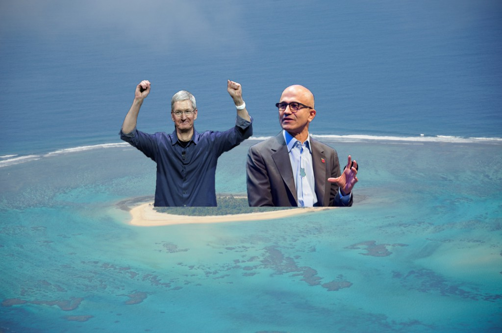 Apple und Microsoft