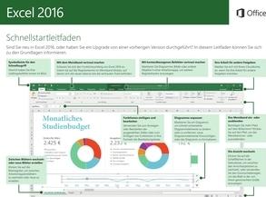 Excel 2016 Schnellleitfaden