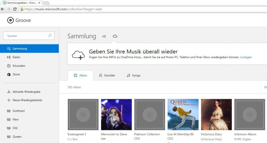 Groove Google Chrome