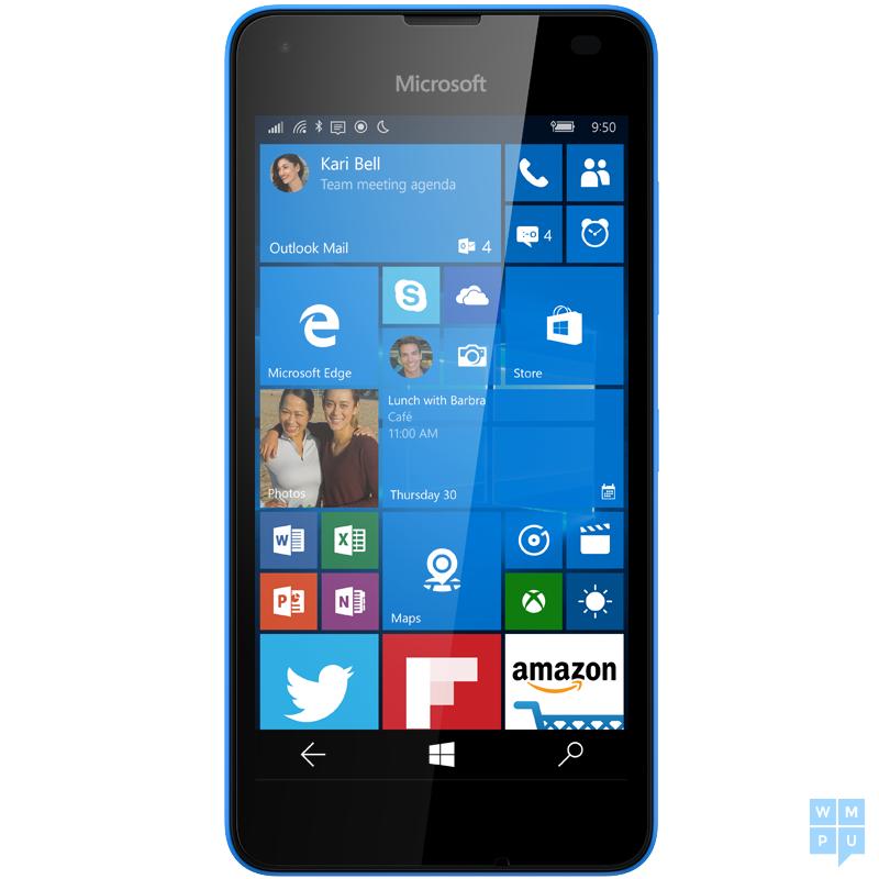 Lumia 550_blue