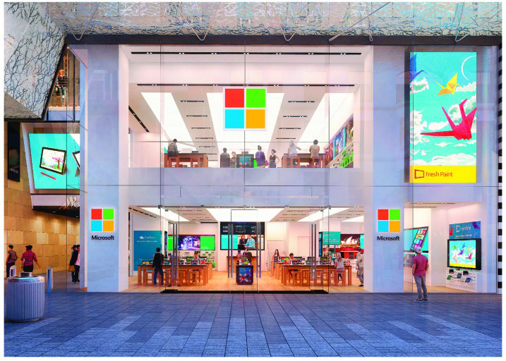 Microsoft Flagship Store Sidney