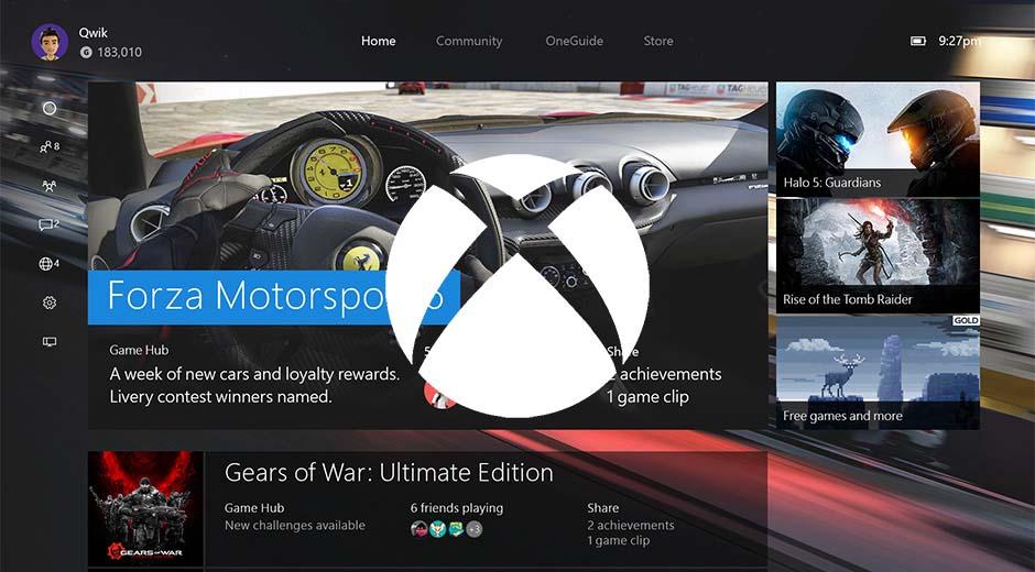 Xbox One Sommer Anniversary Update