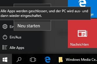 Neustart PC