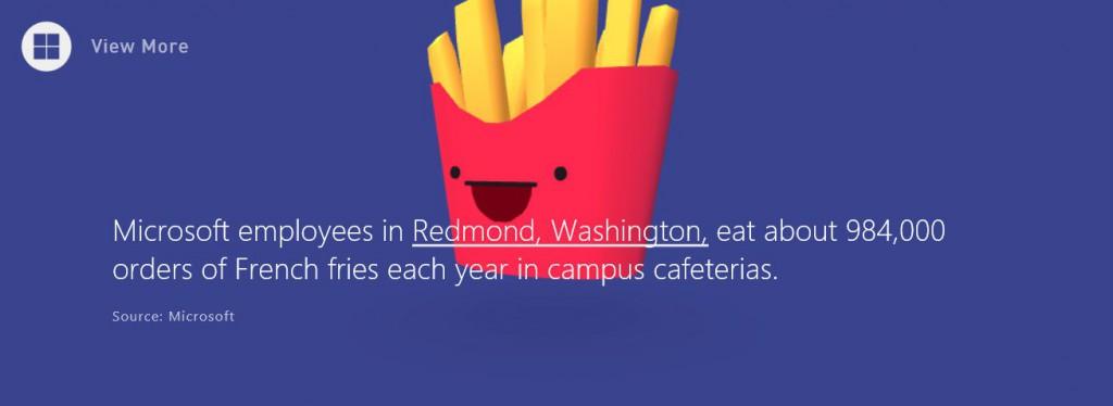Pommes Microsoft