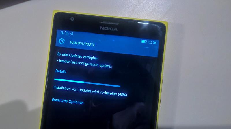 Windows-10-Mobile-Konfigurationsupdate