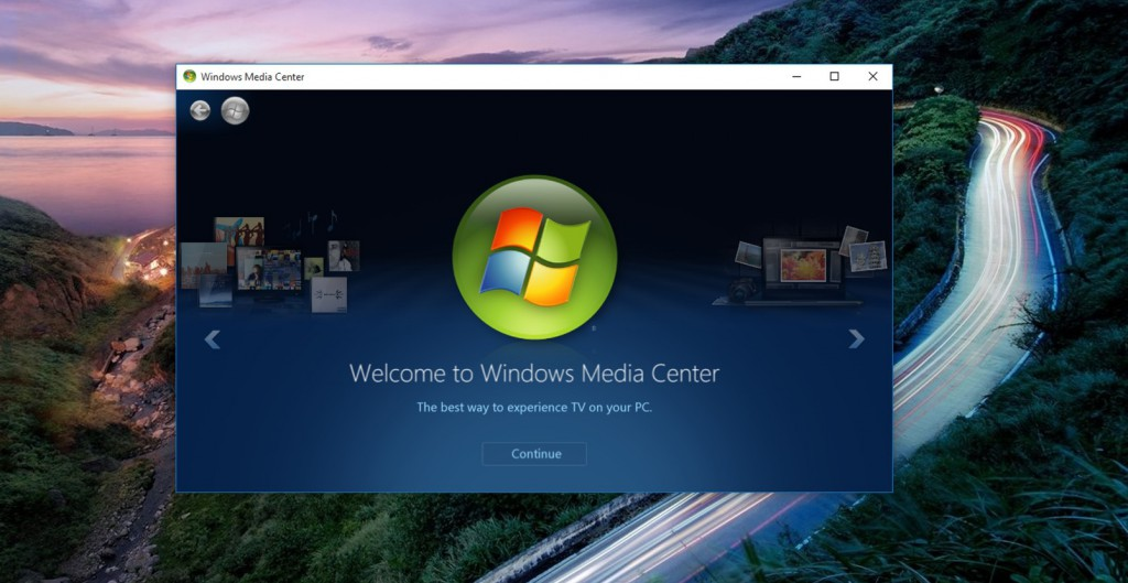Windows Media Center unter Windows 10