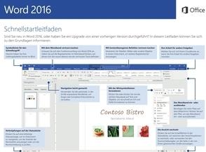 Word 2016 Schnellleitfaden