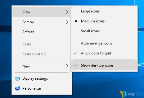 Kontextmenüs grau Windows 10