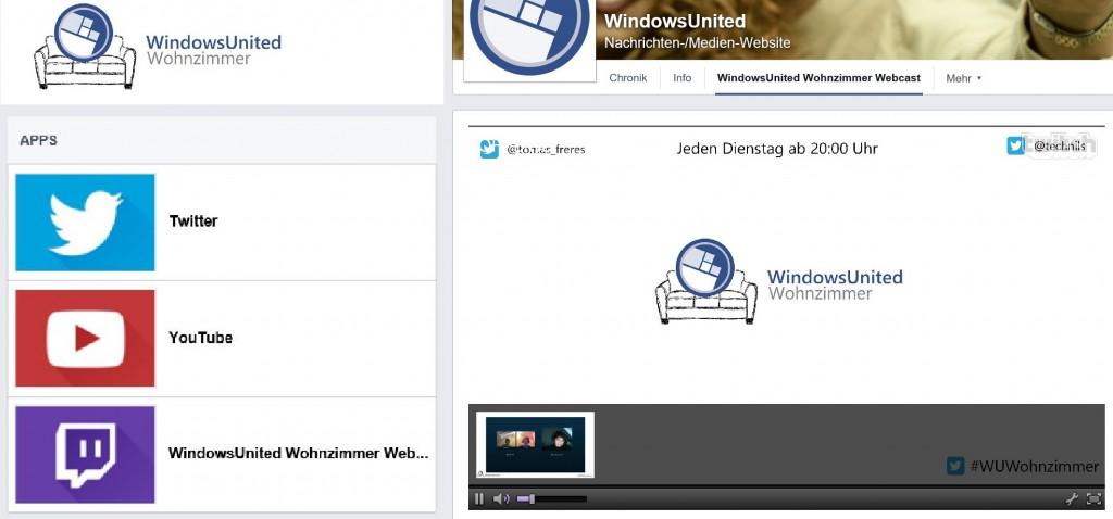 Webcast Ankündigung