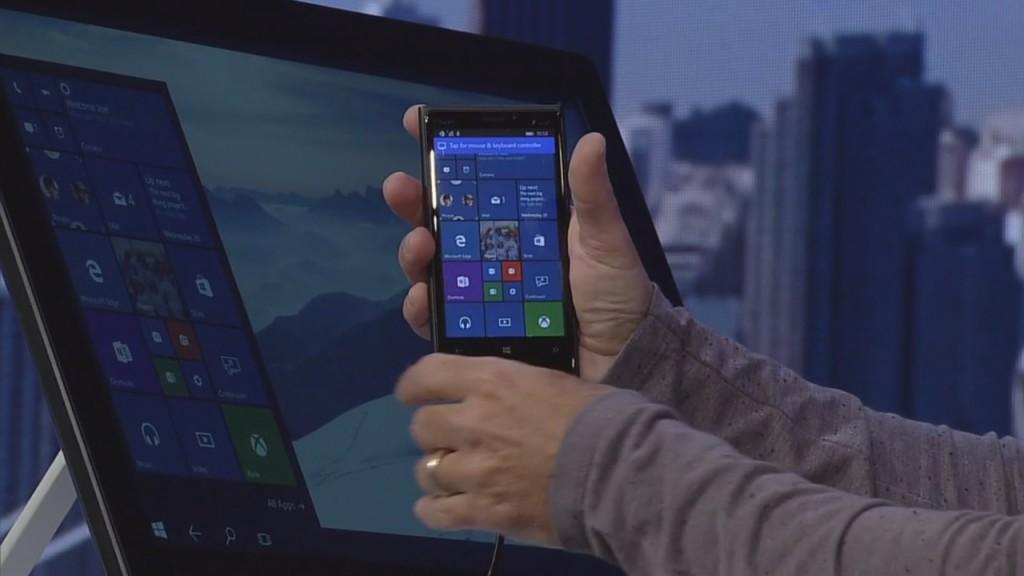 Continuum: Windows Phone als PC für die Hosentasche