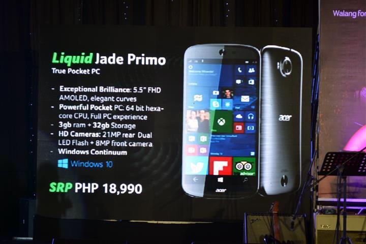 Acer Liquid Jade Primo philippines