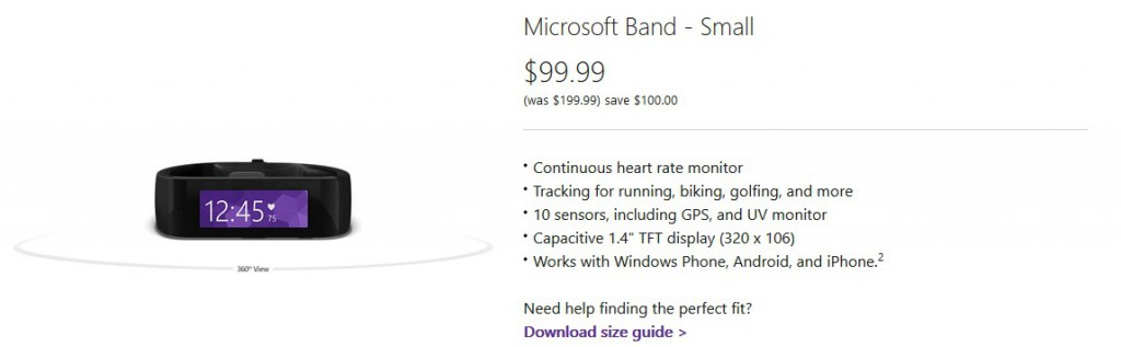 Band 1 Microsoft