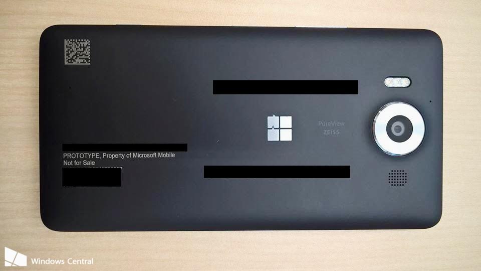 Lumia 950-Prototype