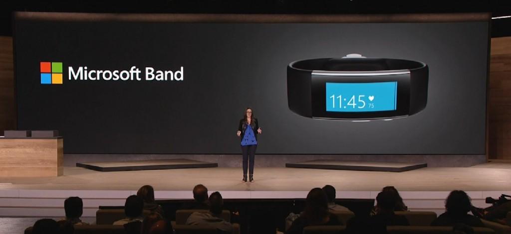 Microsoft Band Präsentation