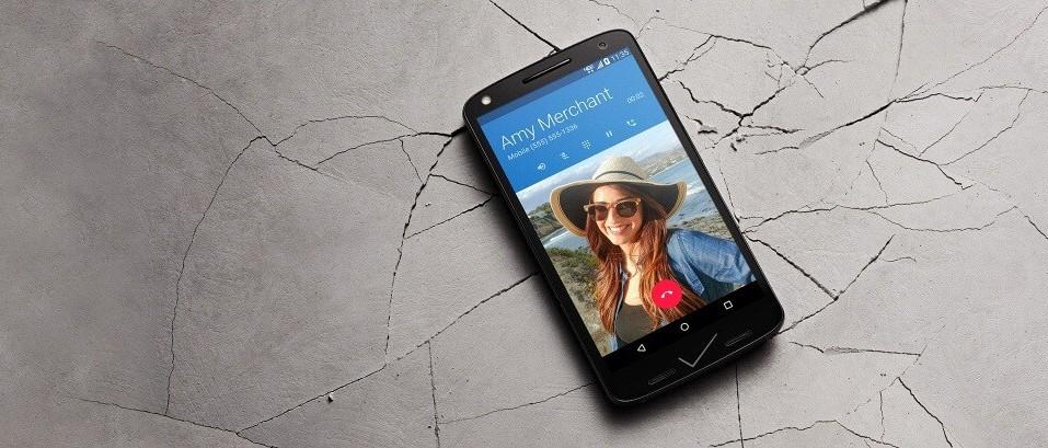 Motorola - Bruchsicheres Glas