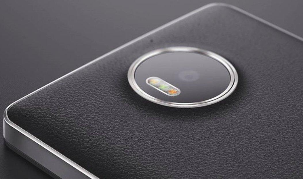 Mozo Lumia 950 Cover Alu Leder