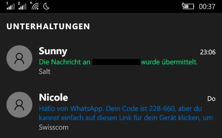 Namensänderung Build 10549