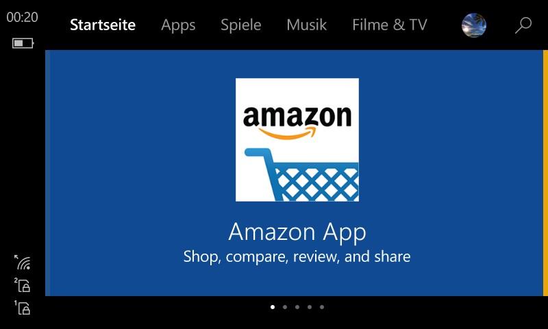 Neuer Store Lumia 630