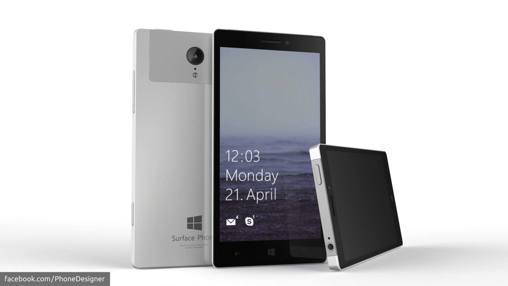Surface Phone Konzept PhoneDesigner