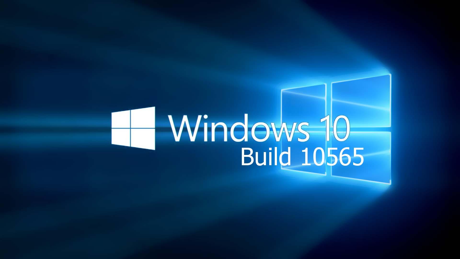 Windows 10 10565
