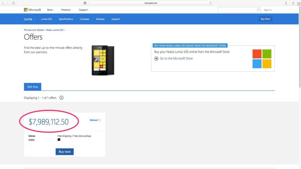 lumia 520 teuer