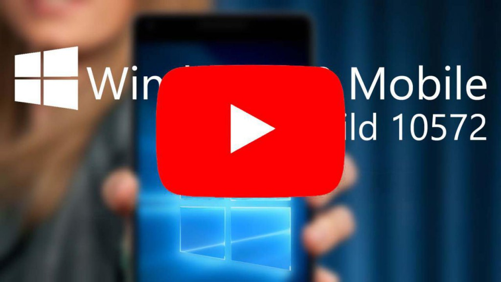 WIndows 10 Mobile Build 10572 Hands On Video