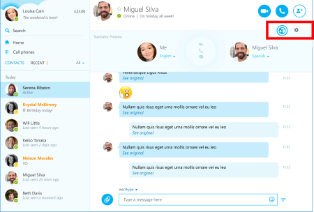 Skype Übersetzer