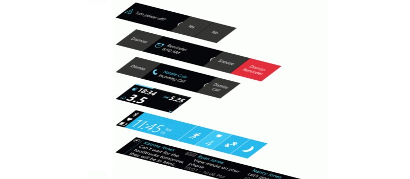 Microsoft Band 2 Web Tiles