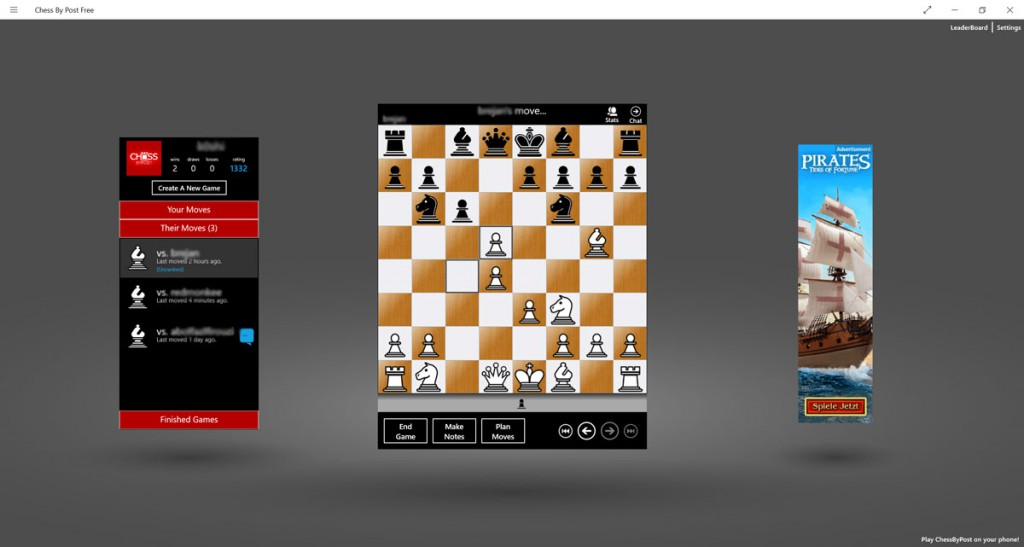 Chess-by-Post-free-Windows