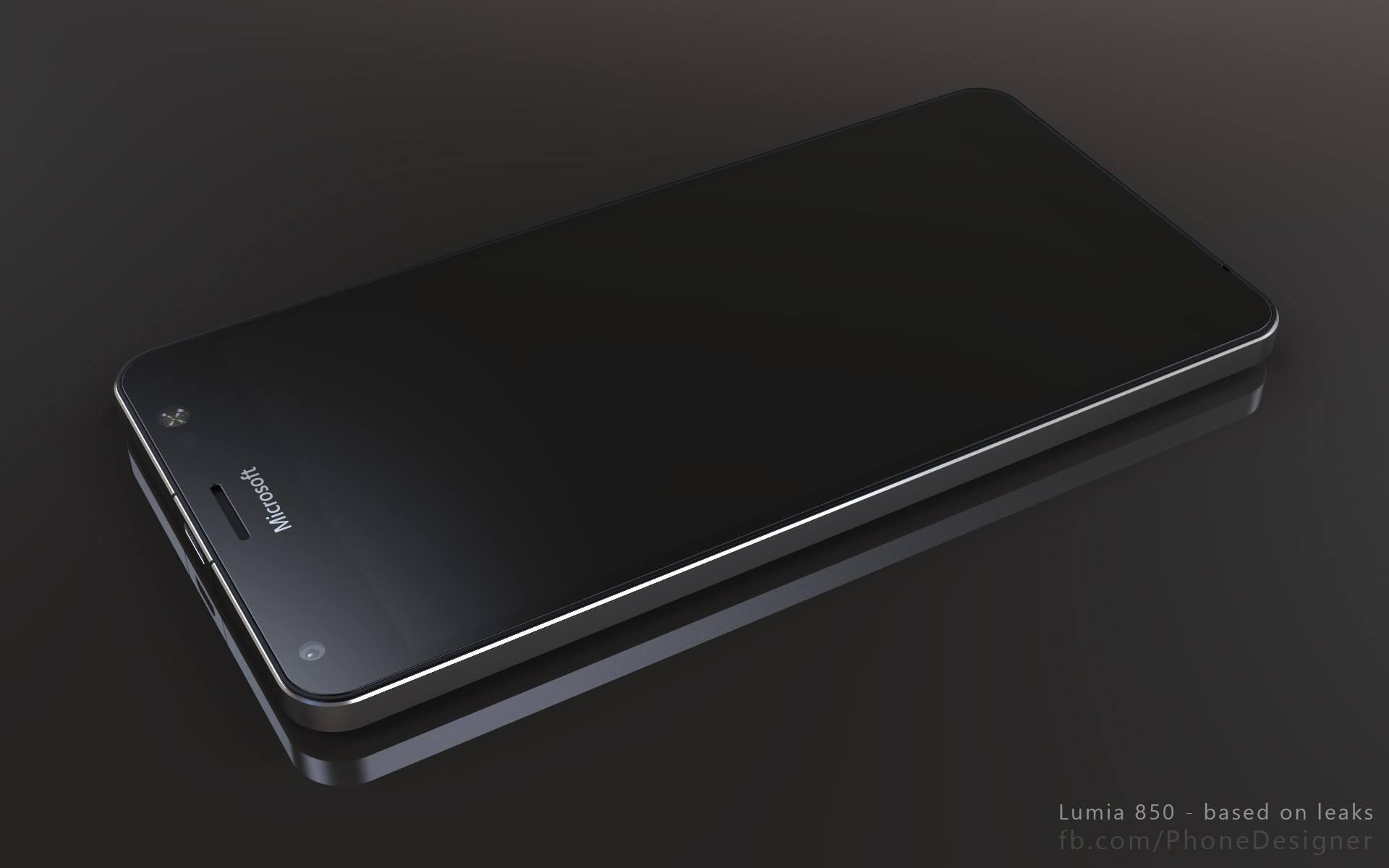 Lumia 850 Render 4