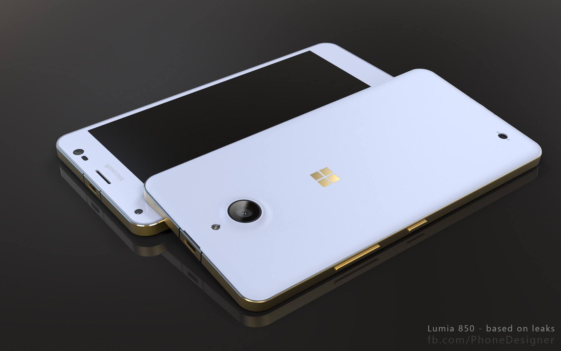 Lumia 850 Render 7