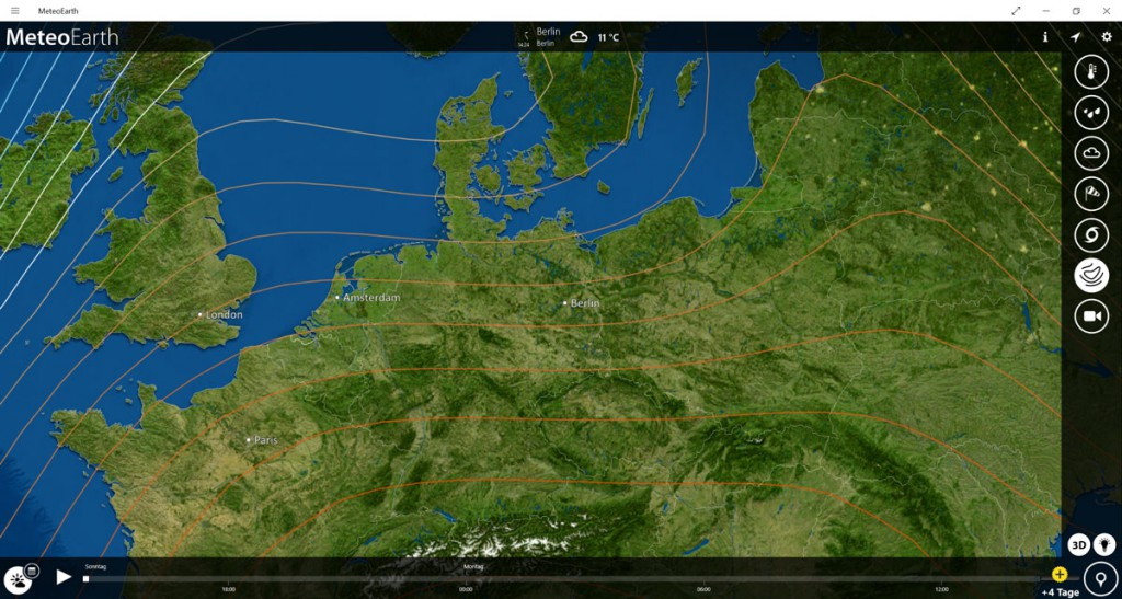 MeteoEarth-Windows-App