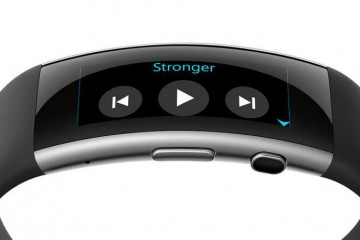 Microsoft Band 2 Music Control