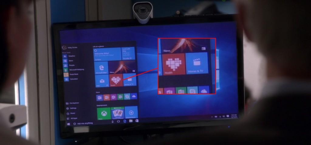 Microsoft Health bei NCIS