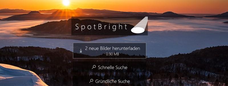 SpotBright Bilder herunterladen